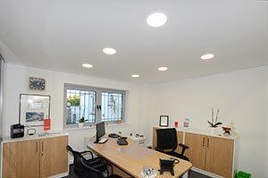 Spanndecke mit LED-Beleuchtung - Plameco Elmshorn