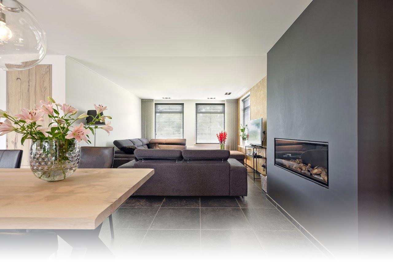 Perfekte Decke im Wohnzimmer - Plameco Spanndecken Hamburg