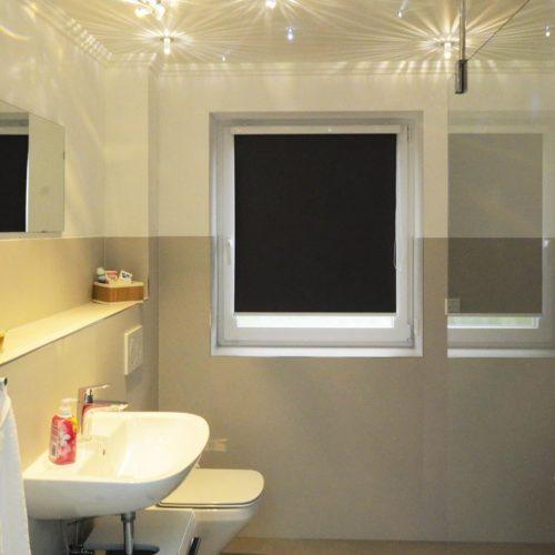 Swarowski-Sternen-LEDs im Badezimmer